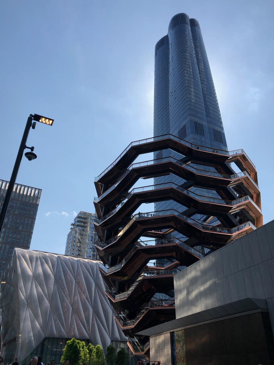 Hudson Yards with the Shed and the Vessel